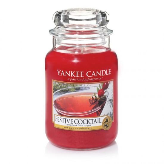 Duża świeca Festive Cocktail Yankee Candle