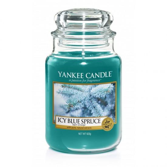 Duża świeca Icy Blue Spruce Yankee Candle