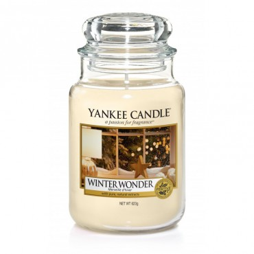 Duża świeca Winter Wonder Yankee Candle