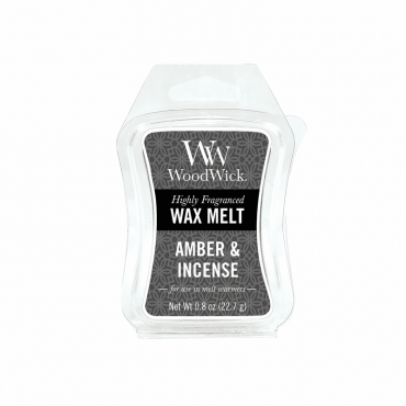 Wosk Amber & Incense WoodWick