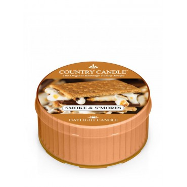 Daylight świeczka Smoke & S mores Country Candle