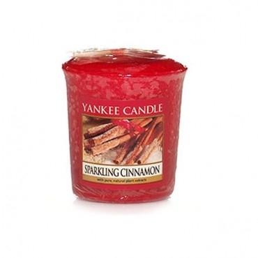 Sampler Sparkling Cinnamon Yankee Candle