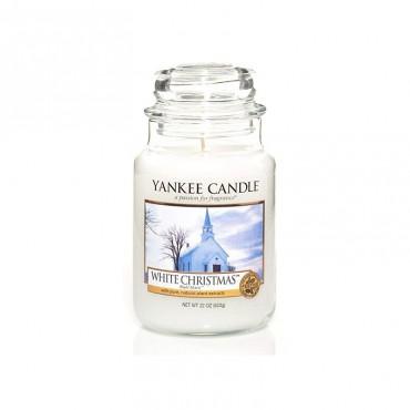 Duża świeca White Christmas Yankee Candle