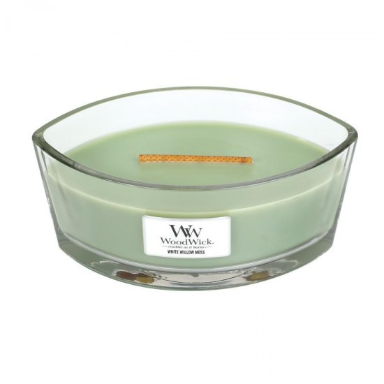 Świeca Hearthwick White Willow Moss WoodWick