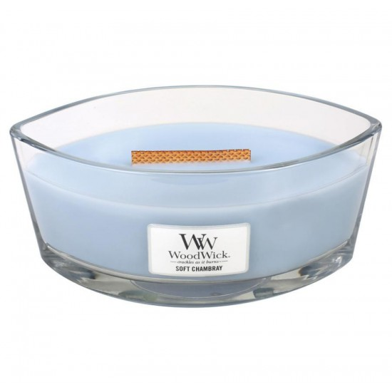 Świeca Hearthwick Soft Chambray WoodWick