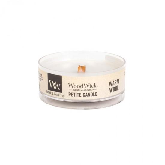 Świeca Petite Warm Wool WoodWick
