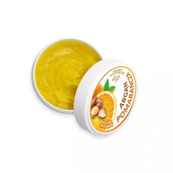 Naturalne mydło Argan & Pomarańcza Etja