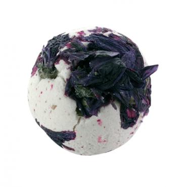Kremowa kuleczka do kąpieli Kwiat Malwy Bomb Cosmetics