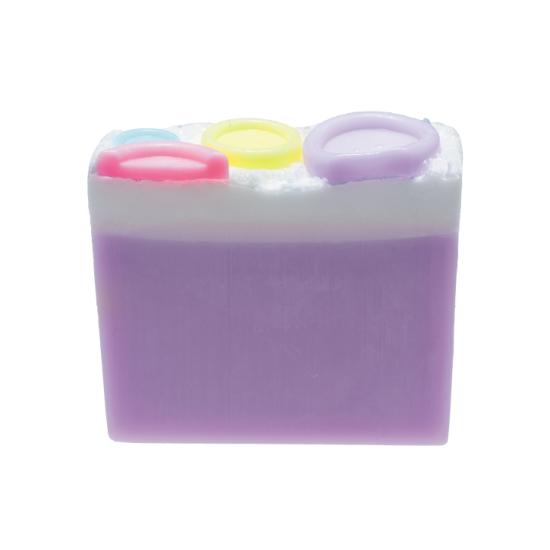 Mydło glicerynowe Guziczki z Lawendą i Geranium Bomb Cosmetics