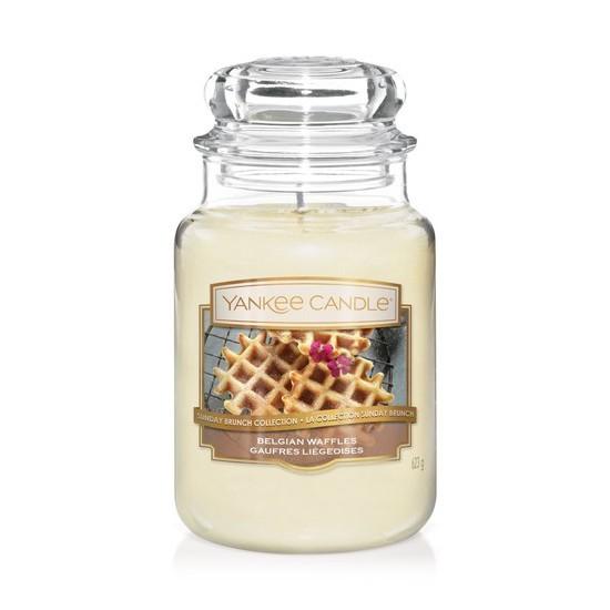 Duża świeca Belgian Waffles Yankee Candle