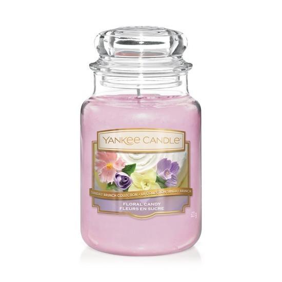 Duża świeca Floral Candy Yankee Candle