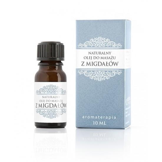 Naturalny olej ze słodkich migdałów 10 ml Optima Plus