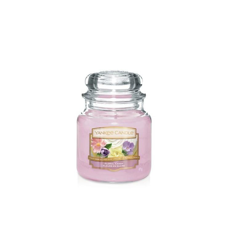 Średnia świeca Floral Candy Rose Yankee Candle