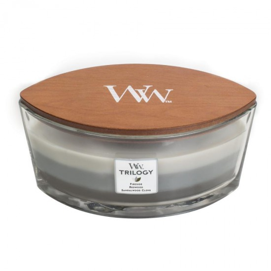 Świeca Hearthwick Trilogy Warm Woods WoodWick