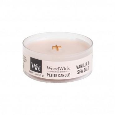Świeca Petite Vanilla & Sea Salt WoodWick