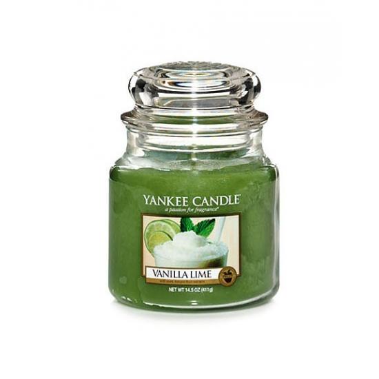 Średnia świeca Vanilla Lime Yankee Candle