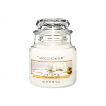 Mała świeca Fluffy Towels Yankee Candle