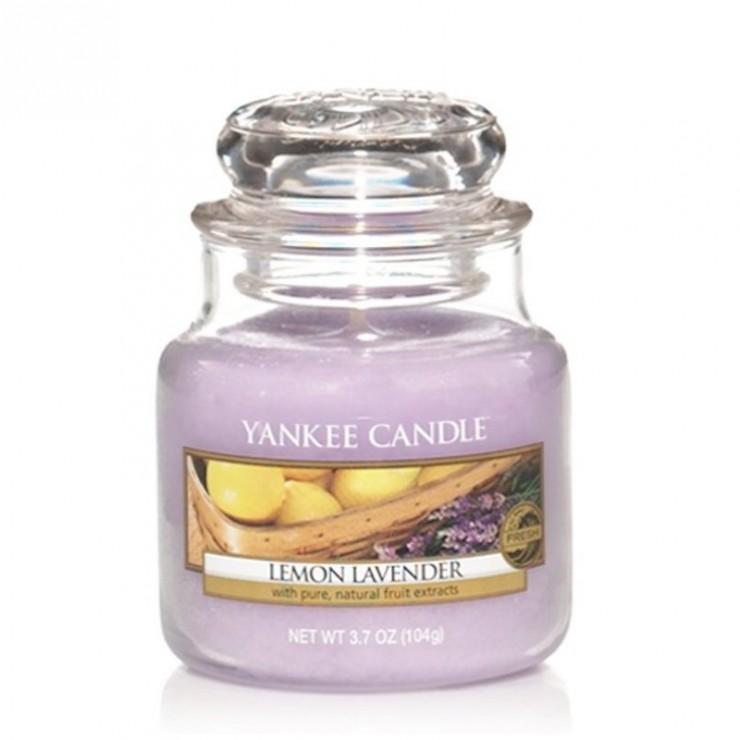 Mała świeca Lemon Lavender Yankee Candle