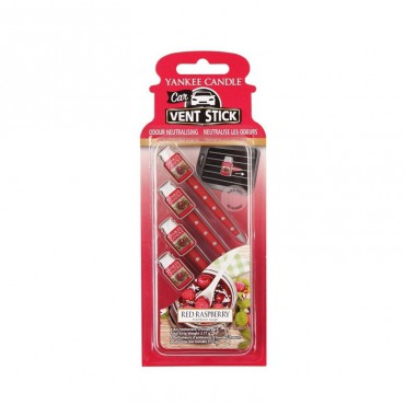 Car Vent Stick Red Raspberry Yankee Candle