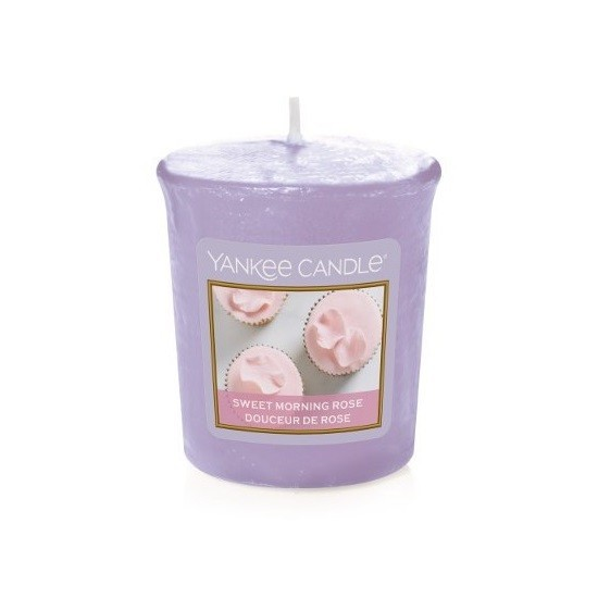 Sampler Sweet Morning Rose Yankee Candle