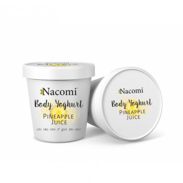 Jogurt do ciała o zapachu orzeźwiającego ananasa Nacomi