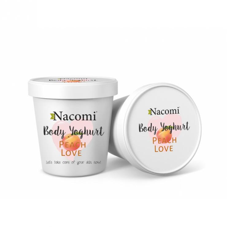 Jogurt do ciała o zapachu soczystej brzoskwini Nacomi