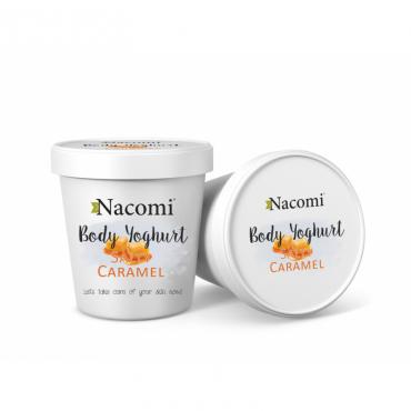 Jogurt do ciała o zapachu słonego karmelu Nacomi