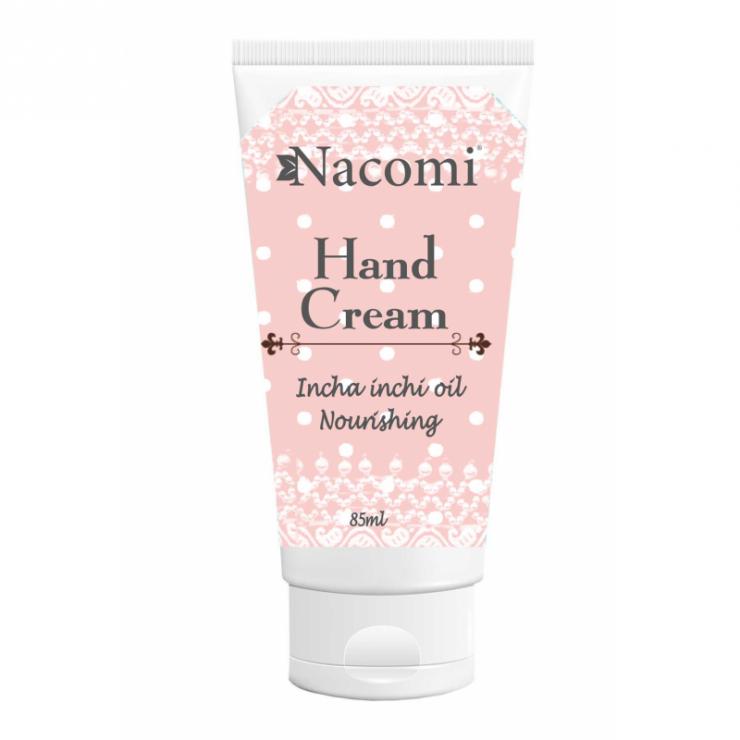 Naturalny krem do rąk odżywiający 85ml Nacomi