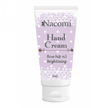 Naturalny krem do rąk wygładzenie i rozjaśnienie 85ml Nacomi