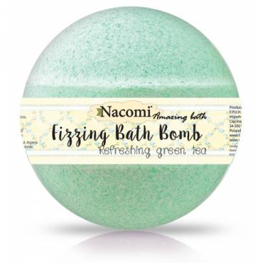 Kula do kąpieli o zapachu zielonej herbaty 130g Nacomi