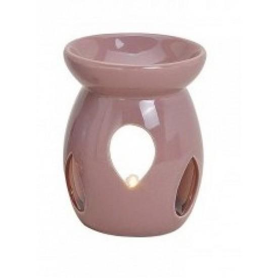 Kominek do wosków z łezką pastelowy fioletowy
