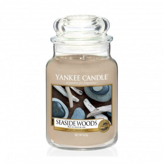 Duża świeca Seaside Woods Yankee Candle
