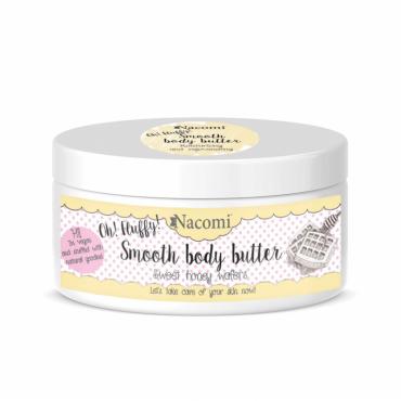 Lekkie masło do ciała miodowe gofry 100g Nacomi