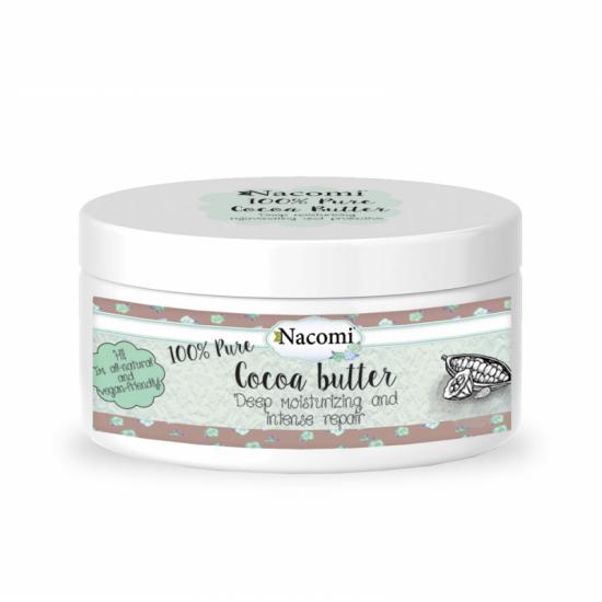 Masło kakaowe naturalne 100ml Nacomi