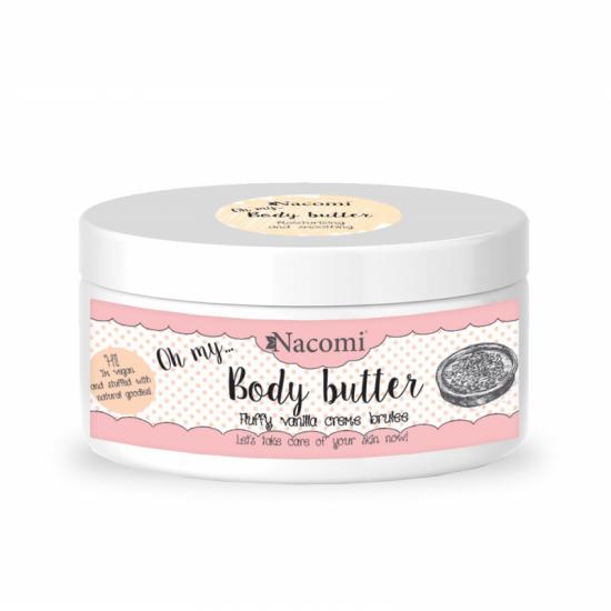 Masło do ciała waniliowe crème brulee 100ml Nacomi