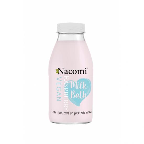 Mleko do kąpieli o zapachu malinowym Nacomi
