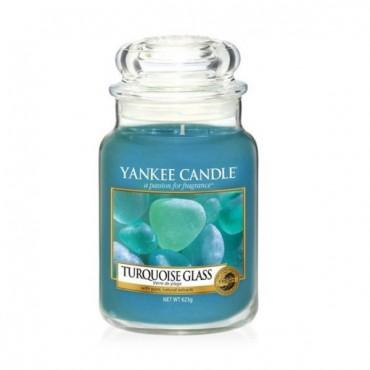 Duża świeca Turquoise Glass Yankee Candle