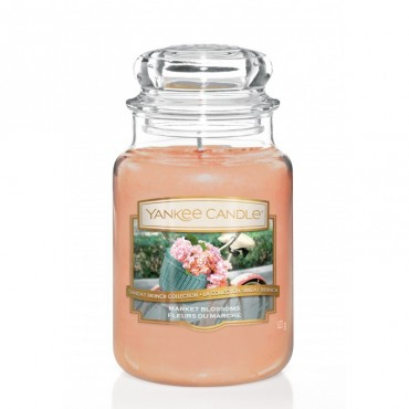 Duża świeca Market Blossoms Yankee Candle