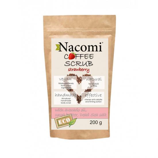 Peeling do ciała suchy truskawka 200g Nacomi