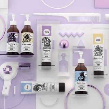 Mleko owsiane Odżywka do włosów Yope