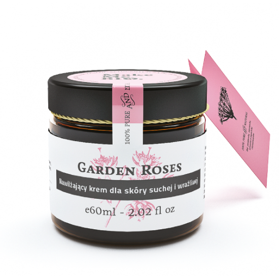 Garden Roses Nawilżający krem dla skóry suchej i wrażliwej Make Me Bio