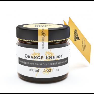 Orange energy Nawilżający krem dla skóry normalnej i wraliwej Make Me Bio