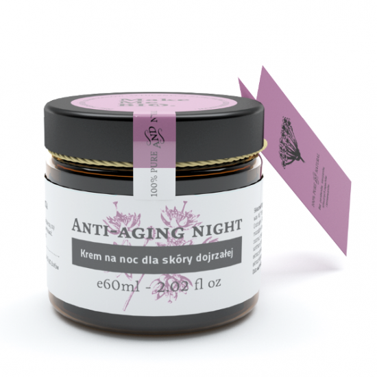 Krem do twarzy Anti-aging night Make Me Bio