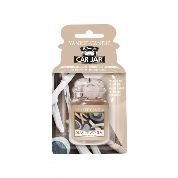 Car jar ultimate Seaside Woods Yankee Candle