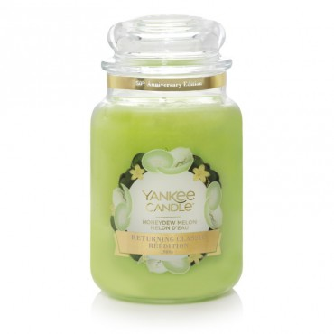Duża świeca Honeydew Melon Yankee Candle