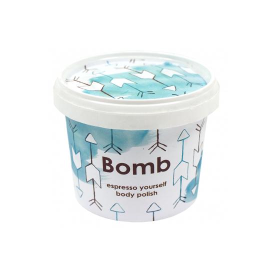 Scrub pod prysznic ESPRESSO z olejkiem ze słodkich migdałów Bomb Cosmetics