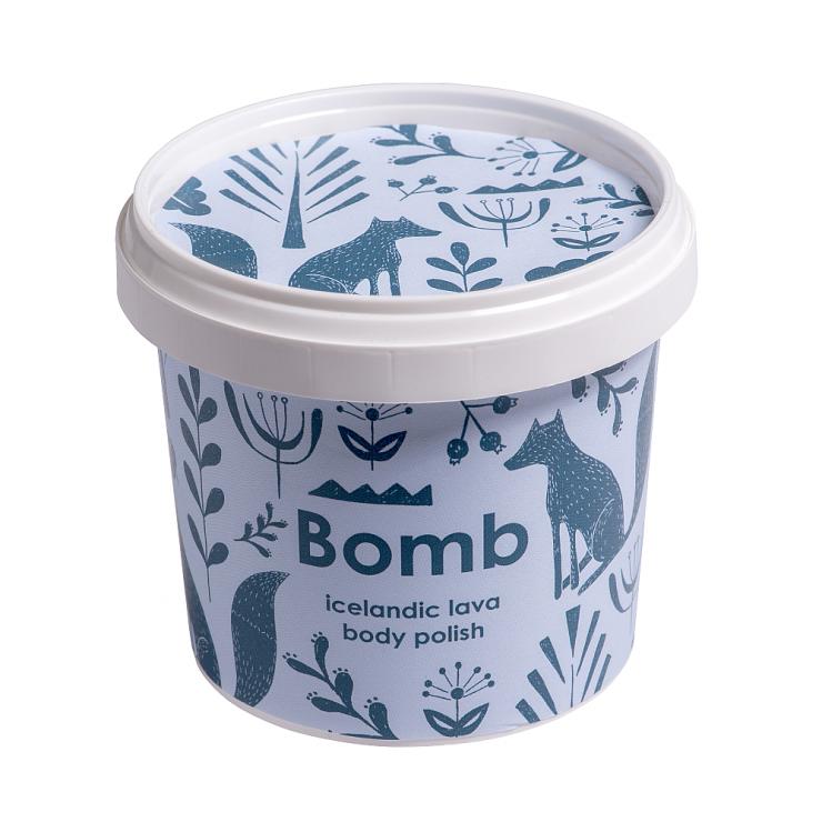 Peeling pod prysznic z masłem shea ISLANDZKA LAWA Bomb Cosmetics
