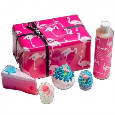 Zestaw upominkowy FLAMIGLE MIGLE Bomb Cosmetics