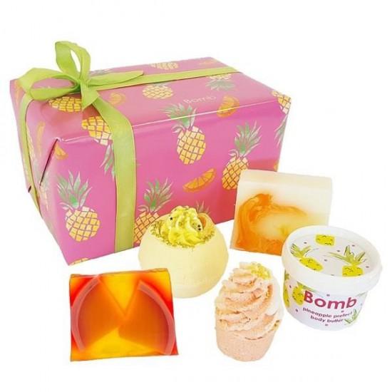 Zestaw upominkowy TOTALNIE TROPIKALNY Bomb Cosmetics