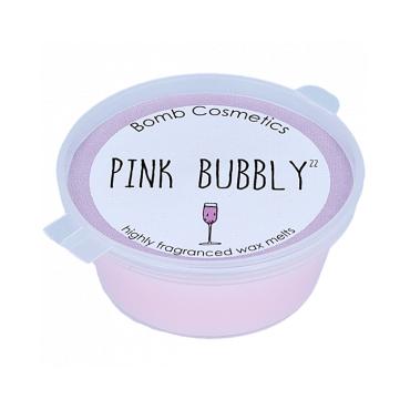 Wosk zapachowy RÓŻOWE BĄBELKI Bomb Cosmetics